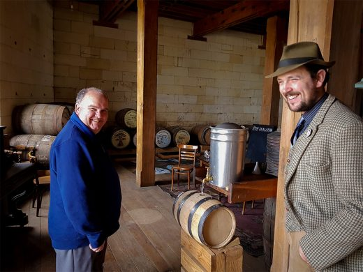Greg Carson and James McKenzie New Zealand Whisky