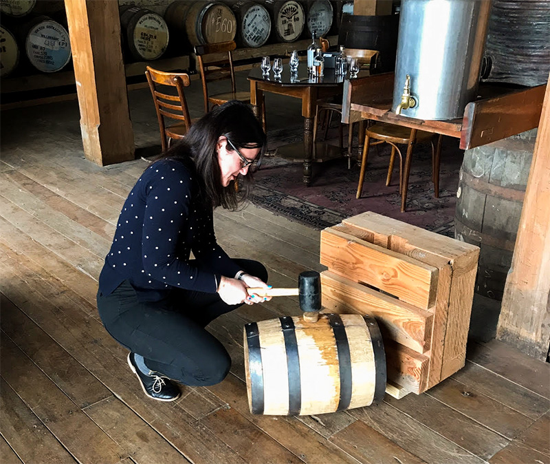 Kath Murphy New Zealand Whisky Cask