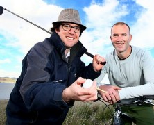 Golfers ready to light up long-awaited Arm End course, south of Hobart