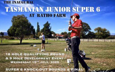 Tasmanian Junior Super 6: Wednesday July 15-16 2020