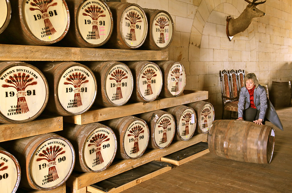 The New Zealand Whisky Collection Barrel House.