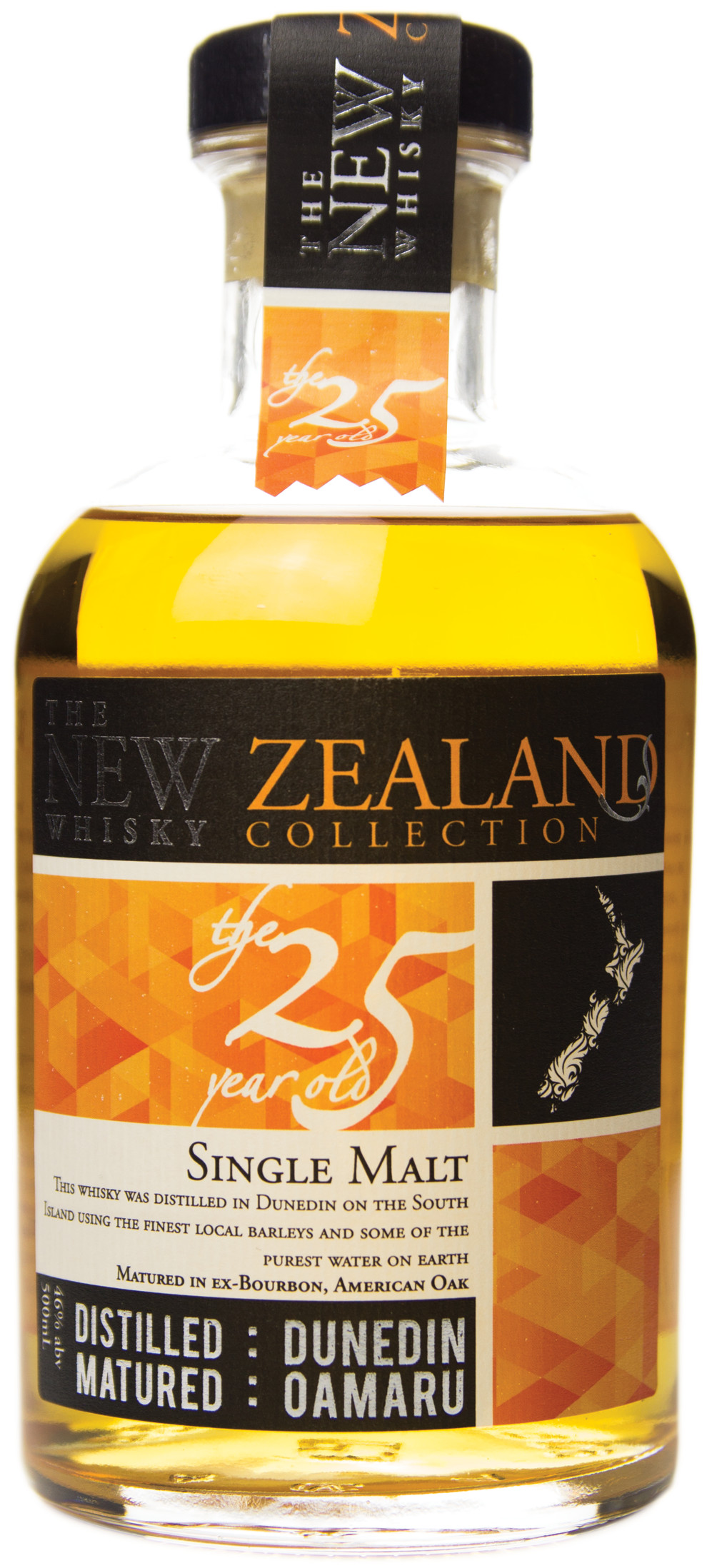 The New Zealand Whisky Collection 25 Year Old
